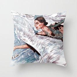 A Gaivota Throw Pillow