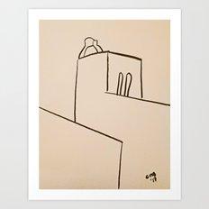 Castelo de Alora Art Print