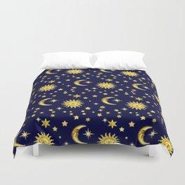 Sun, Moon & Stars Duvet Cover