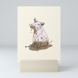 Filthy Pig Mini Art Print