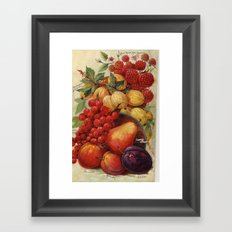 Wild fruit Framed Art Print