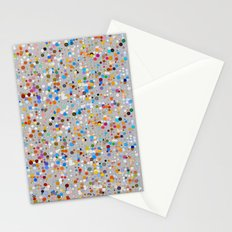 Splash dots Stationery Cards