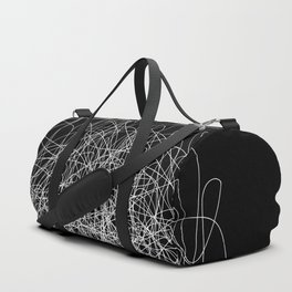 Continuous Line / Black Duffle Bag