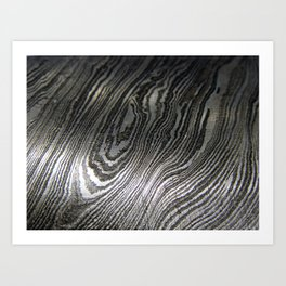Damascus Blade 1 Art Print