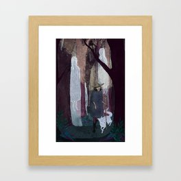 Ghosty Woods Framed Art Print