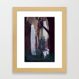 Ghosty Woods Framed Art Print