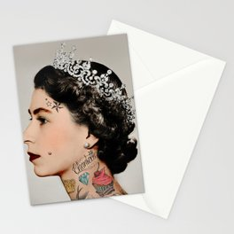 Tattoo #queen Stationery Cards