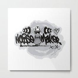 n0isemakeR Logo Metal Print