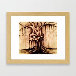 """TREE OF DEATH"" Framed Art Print"