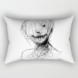Dark Smile Rectangular Pillow