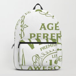 Green-Vintage-Limited-1982-Edition---35th-Birthday-Gift Backpack