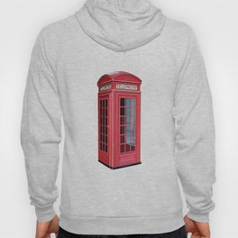 London Red Telephone Booth Hoody
