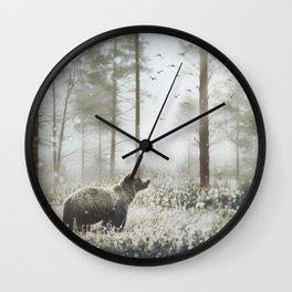 Encounter Wall Clock