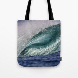 Silver Swells Tote Bag