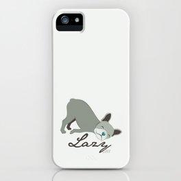 Lazy Dog iPhone Case