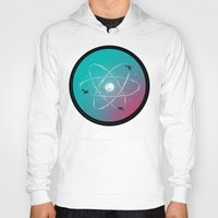 aviation Hoodies featuring Atomic Formation by nicebleed