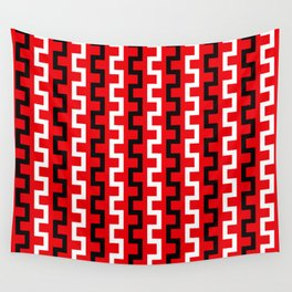 Red line flow Wall Tapestry