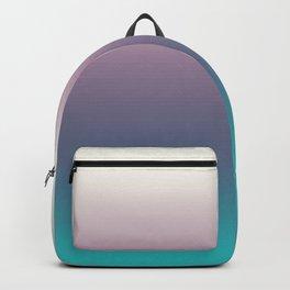 Ombré, Purple, Blue, Green, Pink, Teal, Color Blend Backpack