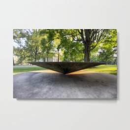 Balanced Cone In Princeton Metal Print