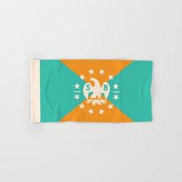 miami snowbird flag Hand & Bath Towel