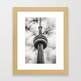Cn Tower Framed Art Print