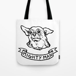 Mighty Man Tote Bag
