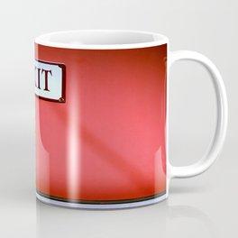 The Next Exit Coffee Mug