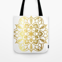 Gold Mandala 1 Tote Bag