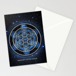 Metadala's cube Stationery Cards