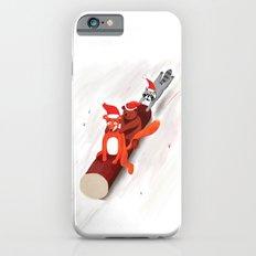 Christmas fox, bear and raccoon iPhone 6s Slim Case