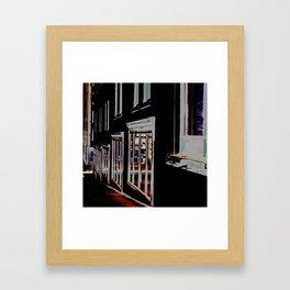 DOWNTOWN HALIFAX Framed Art Print