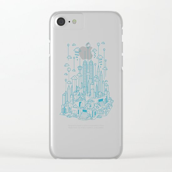 Kuala Lumpur Clear iPhone Case