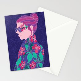 Blooming Girl Stationery Cards