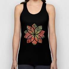 Floral Abstract 7 Unisex Tank Top