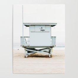 California Beach Tower Poster