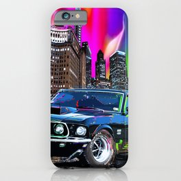 colorful muscle iPhone Case