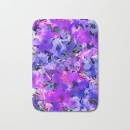 Blue Poppy Jungle Bath Mat
