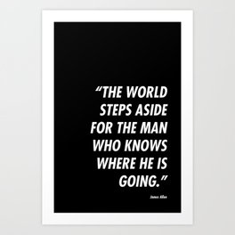 Step Aside Art Print