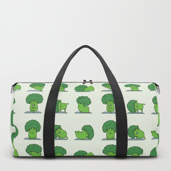 Broccoli Yoga Duffle Bag
