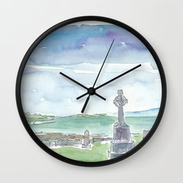 Ireland Murrisk Clew Bay County Mayo Wall Clock