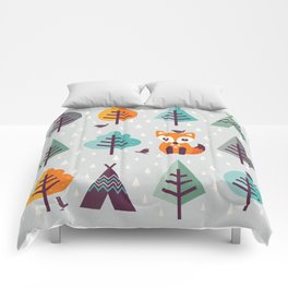 FOX IN THE FOREST Comforters