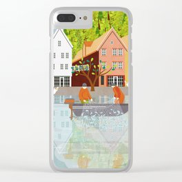 Norway 1 Clear iPhone Case