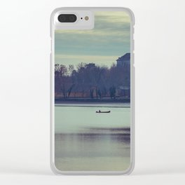 Lake Öreg Clear iPhone Case
