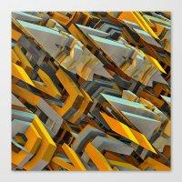 transformer Canvas Prints featuring Transformer Fish by Kunstbehang / Edwin van Munster