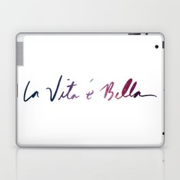 La vita è bella - Life Is Beautiful Laptop & iPad Skin