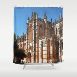 Batalha monastery, Portugal (RR 190) Analog 6x6 odak Ektar 100 Shower Curtain