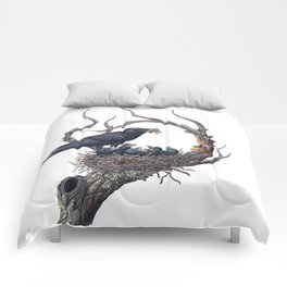 American Crow Comforters