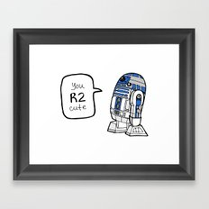 R2CUTIE Framed Art Print