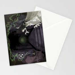 When candelights flicker... Stationery Cards