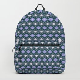 Handcrafted Diamonds Arawapa Blue Backpack